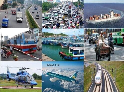 Ưu điểm của các loại phương tiện giao thông vận tải